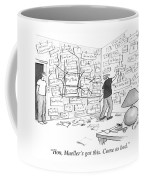 Hon, Mueller's Got This. Come To Bed. Coffee Mug