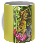 Honey Bee On Mexican Heather Coffee Mug