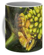 Honey Bee On Wild Golden Glow Coffee Mug