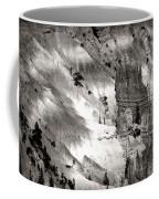Hoodoo's Black White Utah  Coffee Mug