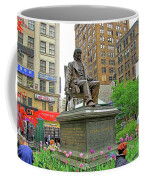 Horace Greelly, First President Of Typographic Union Of New York City Coffee Mug
