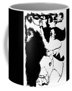 Horseman Being Chased By A Monster Coffee Mug