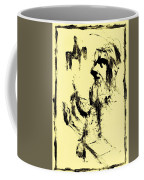 Horsemen On Yellow Coffee Mug