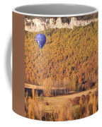 Hot Air Balloon, Beynac, France Coffee Mug by Mark Shoolery