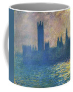 Houses Of Parliament, Sunlight Effect - Digital Remastered Edition Coffee Mug