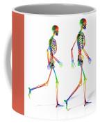 Human Skeleton Pair Coffee Mug