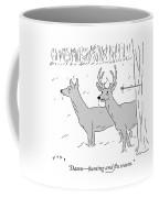 Hunting And Flu Season Coffee Mug