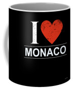 I Love Monaco Coffee Mug