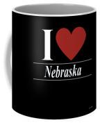 I Love Nebraska Coffee Mug