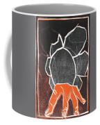 I Was Born In A Mine Woodcut 24 Coffee Mug