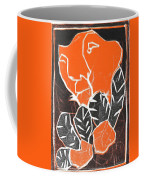 I Was Born In A Mine Woodcut 42 Coffee Mug