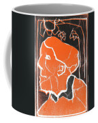 I Was Born In A Mine Woodcut 48 Coffee Mug