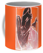 I Was Born In A Mine Woodcut 62 Coffee Mug