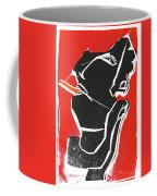 I Was Born In A Mine Woodcut 7 Coffee Mug