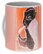 I Was Born In A Mine Woodcut 74 Coffee Mug