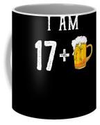 Iam 18 Coffee Mug