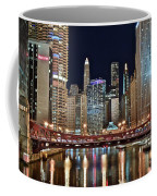 Iconic Night View Down The River Coffee Mug