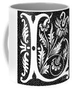Illuminated Letter L Coffee Mug