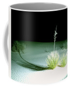 Illuminated Yucca At Night In White Sands National Monument, New Mexico - Newm500 00108 Coffee Mug
