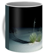 Illuminated Yucca At Night In White Sands National Monument, New Mexico - Newm500 00110 Coffee Mug