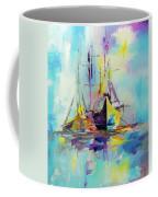 Illusive Boats Coffee Mug