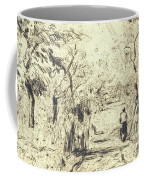 In The Fields At Ennery, 1875 Coffee Mug