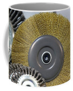 Industrial Wire Brush Attachment Coffee Mug