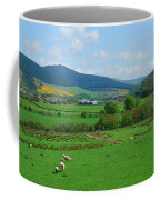 Innerleithen And Tweed Valley Looking East Coffee Mug