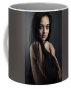 Innocent Young Woman Coffee Mug