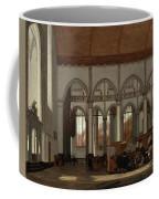 Interior Of The Oude Kerk  Amsterdam  Coffee Mug