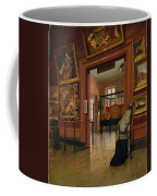 Interior View Of The Metropolitan Museum Of Art When In Fourteenth Street  Coffee Mug