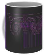 Ionic Capital Diagonal View Cropped 1 Coffee Mug