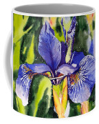 Iris In Bloom Coffee Mug