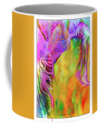 Iris Psychedelic  Coffee Mug by Cindy Greenstein