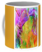 Iris Psychedelic  Coffee Mug