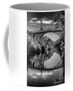 Iron Bridge Shropshire  Coffee Mug by Adrian Evans