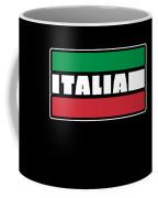 Italian Italy Flag Cool Graphic Italia Soccer Football Coffee Mug