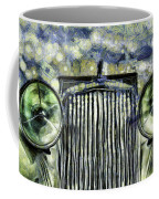 Jaguar Car Van Gogh Coffee Mug