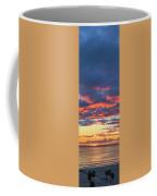January Sunset - Vertirama 3 Coffee Mug