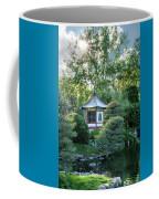 Japanese Garden #4 - Island Pagoda Vertical Coffee Mug