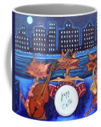 Jazz Cats Coffee Mug by Lisa Lorenz
