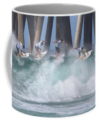 Jeremy Flores Surfing Composite Coffee Mug