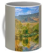 Jerome Reflected In Deadhorse Ranch Pond Coffee Mug