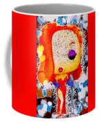 Jessica Rabbit Pop Coffee Mug by Al Matra