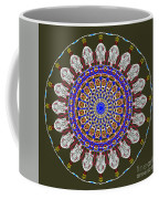 Jesus The King Of Kings Mandala Coffee Mug by Catherine Lott