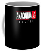 Jiu Jitsu Black Belt Anaconda Light Gift Martial Arts Bjj Coffee Mug