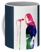 Joe Cocker Watercolor Coffee Mug