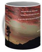 John 12 Coffee Mug