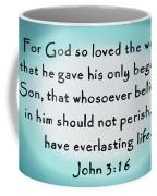 John Three Sixteen Coffee Mug