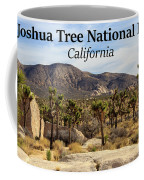 Joshua Tree National Park Valley, California Coffee Mug